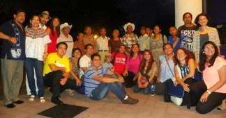 Universidad de El Salvador, 2015. Equipo organizativo del concierto de náhuat.
