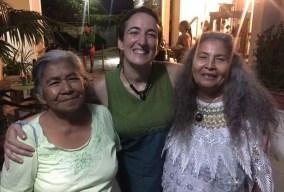 Casa Tomada, San Salvador, 2018. Con Antonia Ramírez y Guadalupe Estrada.