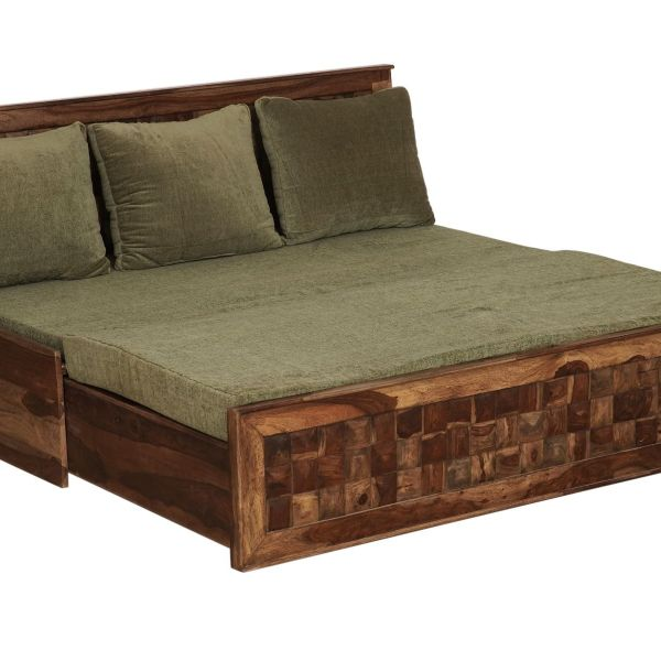 Wood Sofa cum Bed
