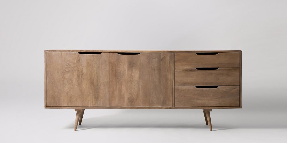 Natural Brown Sideboard