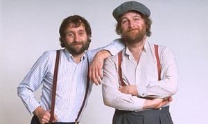 Dragon's Den or Chas and Dave
