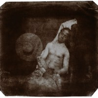 Hippolyte Bayard - Self-Portrait as a Drowned Man (1840) and José Gomes (1913)