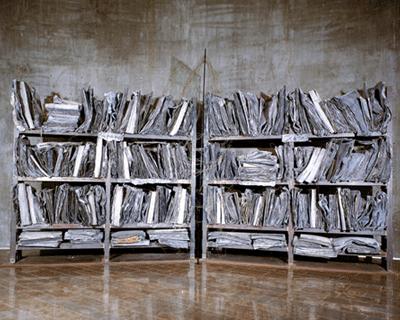 Anselm Kiefer, Barren Landscape, 1987-1989.