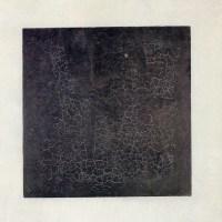 Malevitch, Quadrado Negro em Fundo Branco, 1913