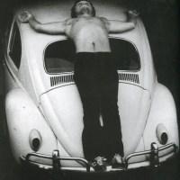 Chris Burden, trans-fixed, 1974