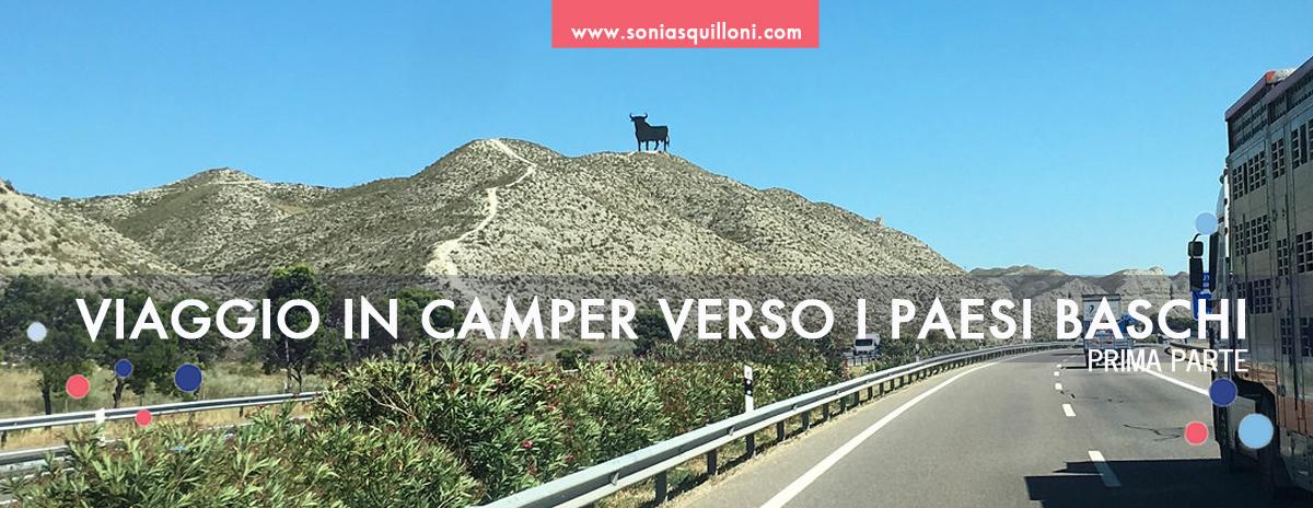 Viaggio in camper verso i Paesi Baschi - prima parte