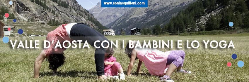 Valle D'Aosta con i bambini