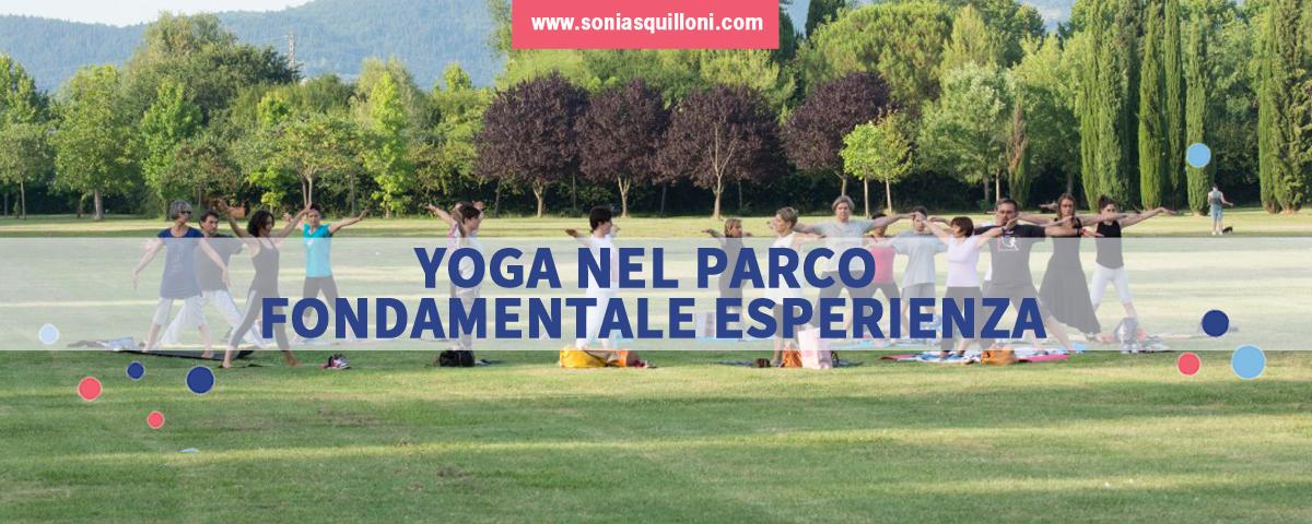 Yoga nel parco: la pratica estiva è open air!