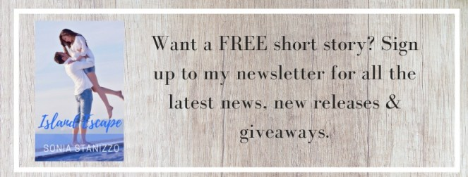 Want a FREE short story_ Sign up to my newsletter for all the latest news, new releases & giveaways.