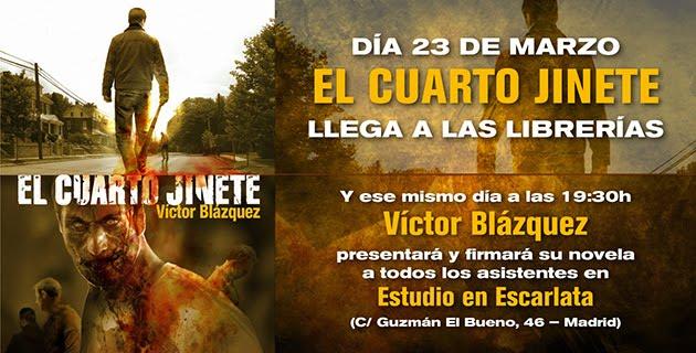 El Cuarto Jinete\': Entrevista a Víctor Blázquez – Sonia ...