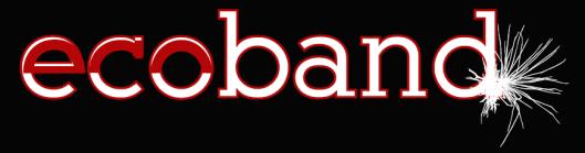 Ecoband Logo negro