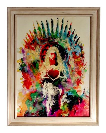 Daenerys en el Trono de Hierro