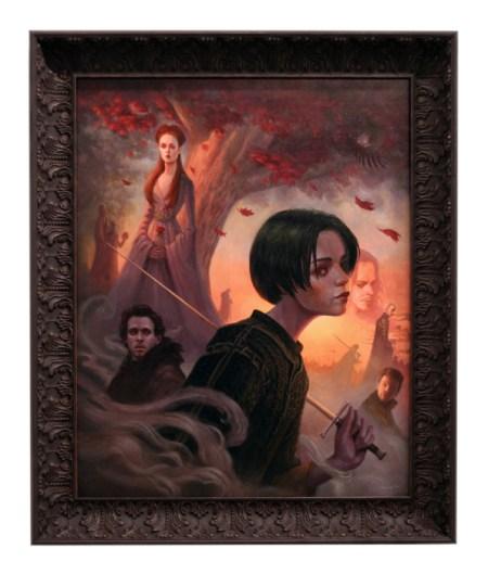 Niños Stark (Sansa, Arya y Rob)