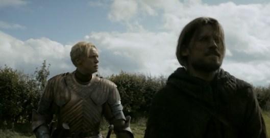 juego de tronos 3x02 06 Brienne Jaime
