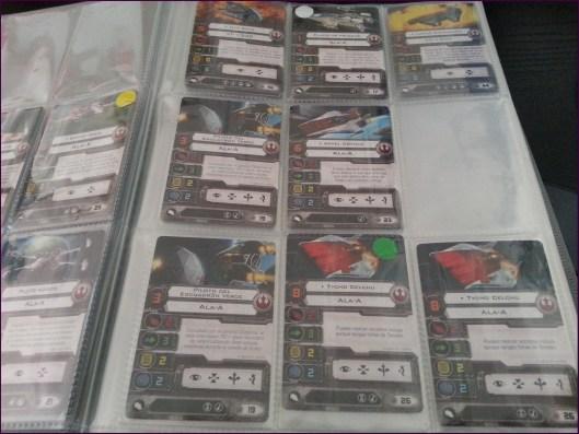 Algunas de las cartas de piloto