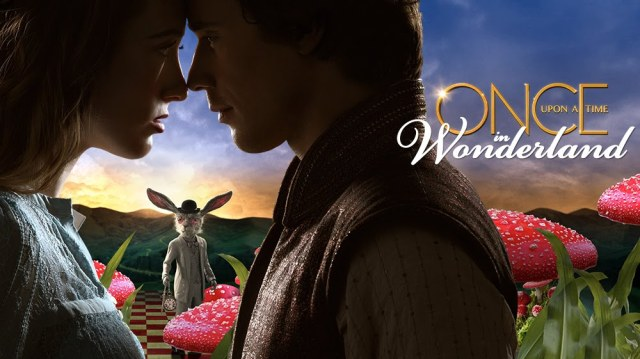 once upon a time in wonderland banner