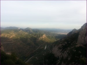 Vista del cauce del Llobregat