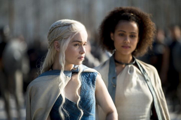 Daenerys Targaryen (Emilia-Clarke) - Missandrei (Daenerys-Targaryen)