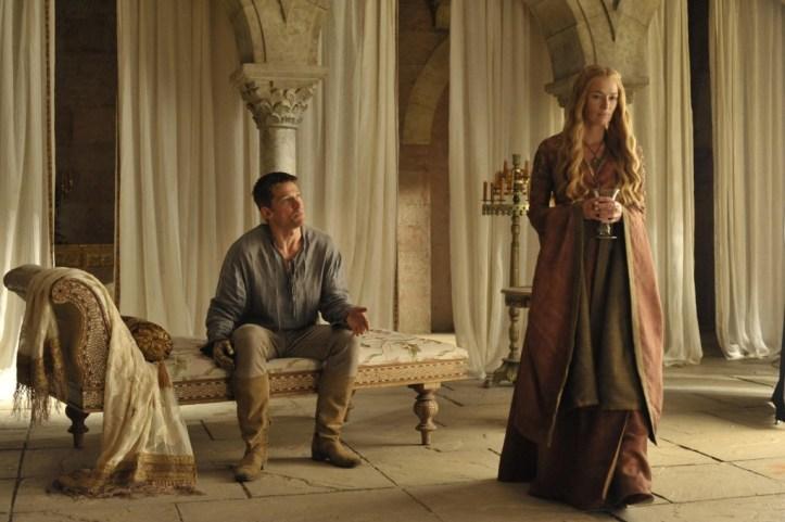 Jaime Lannister (Nikolaj-Coster-Waldau) - Cersei Lannister (Lena-Headey)