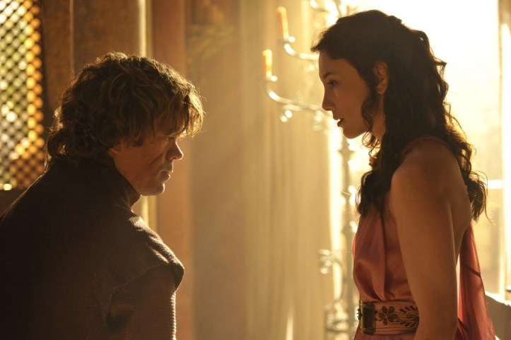 Tyrion Lannister (Peter-Dinklage) - Shae (Sibel-Kekilli)