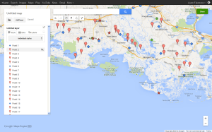 rust cohle evidences map recreated google maps
