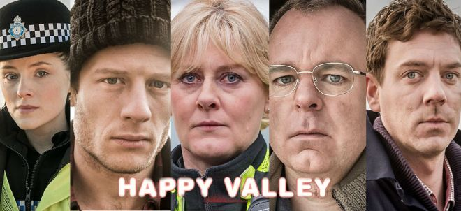 Happy Valley Cast Banner