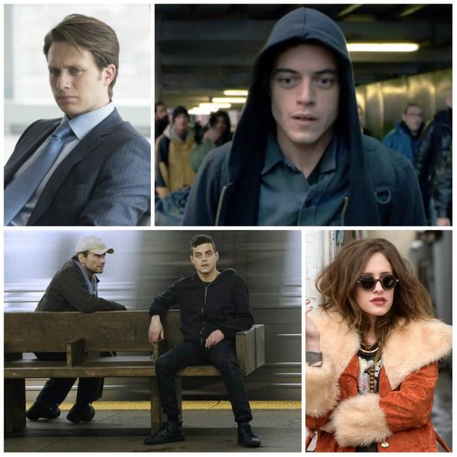 Mr Robot cast collage