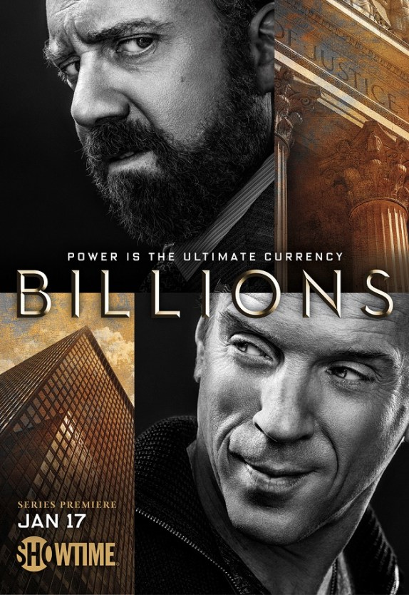 billions poster showtime