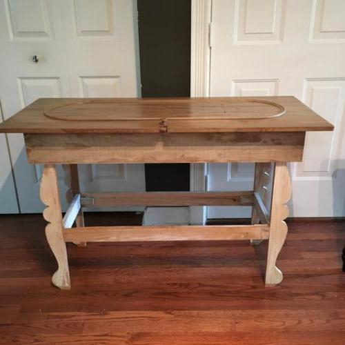 Piano top table