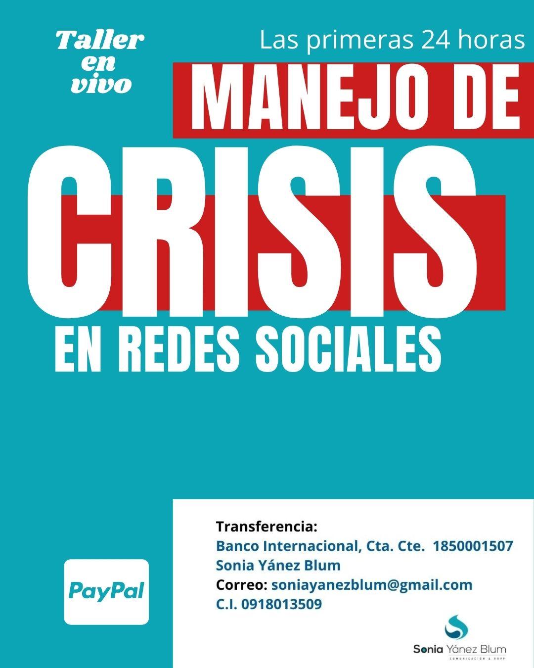 pagos gestion de crisis