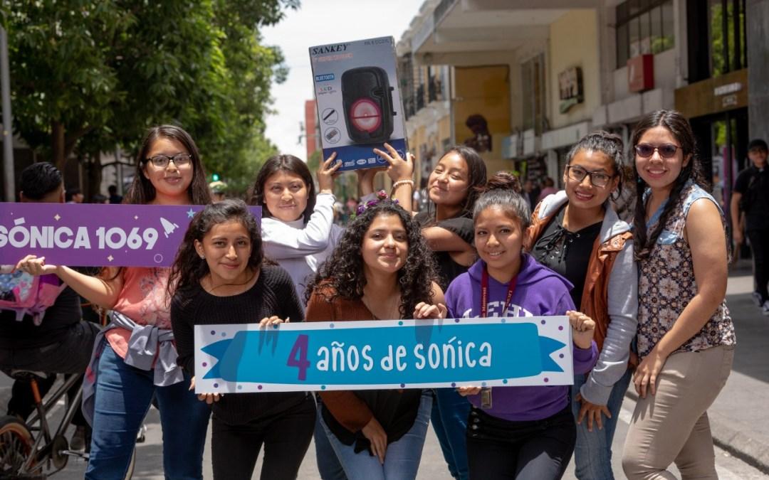 Sónica celebra su cuarto aniversario