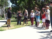 Craig Stone talks about the 'linguistic landscaping' of the CSULB campus.