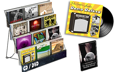 This is an image of color schemes, graphics and artwork design used for cover artwork on CD, LP, and DVD and digital marketing.