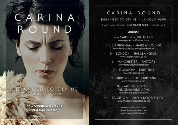 Tour dates Carina New