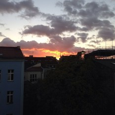 Sunset over Mitte