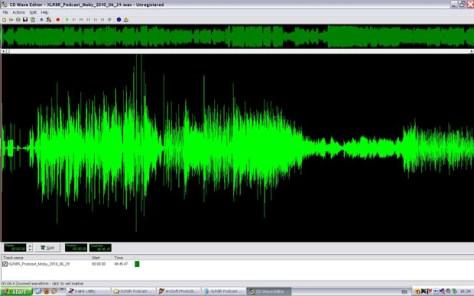 wav waveform