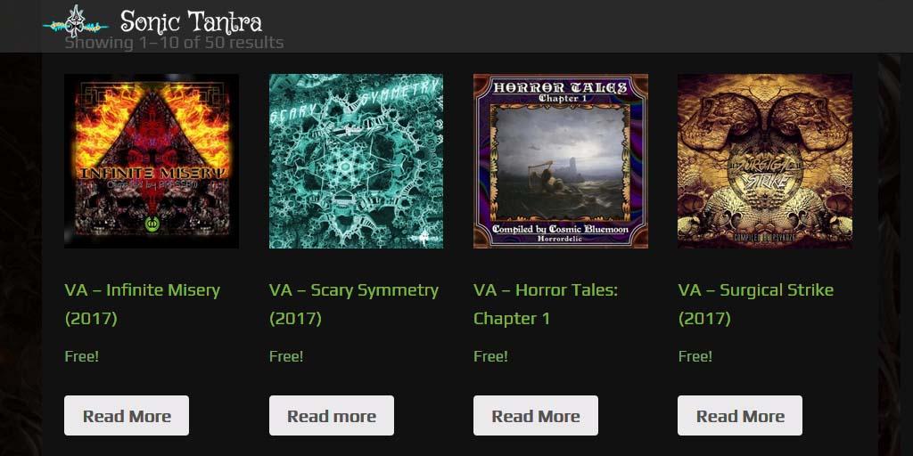 4 New DarkPsy / Psycore / Hi-Tech Psy albums for FREE