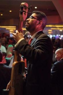 Bass-player-Jose-Rodriguez-single-Empire-City-Yonkers-Raceway-Casino