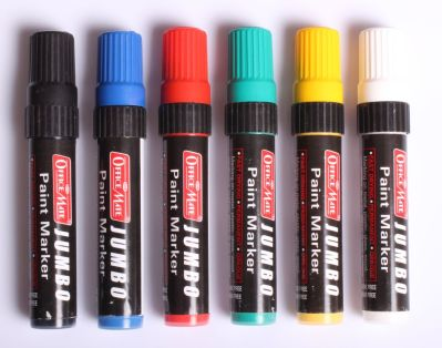 Soni Office Mate - Jumbo Paint Markers in Pack of 6 Markers 3