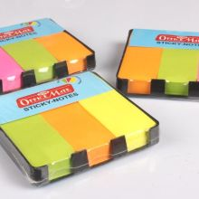 Soni Office Mate - Sticky Note Pads Fluorescent (50 x 76) 1