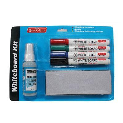 Soni Office Mate - Whiteboard Marker Starter Kit in Blister Packing – Pack of 1