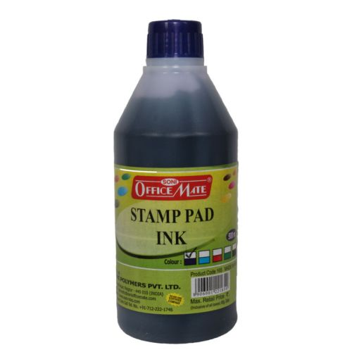 Soni Office Mate - Stamp Pad Refill Ink 500 ml