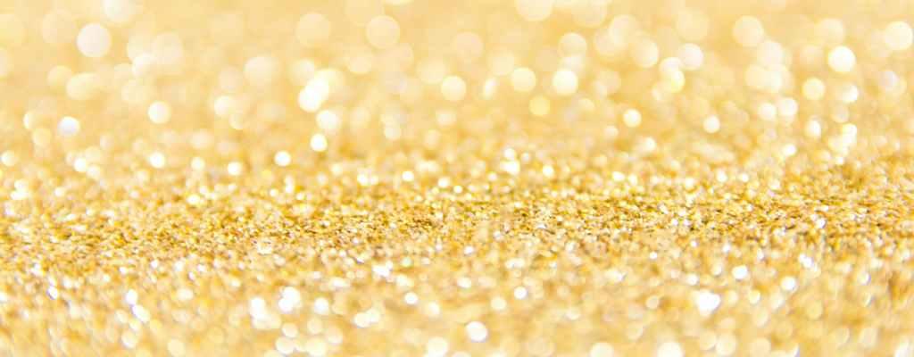 gold glitter lot