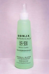 Sonja Botanicals Skin Care Herbal Astringent