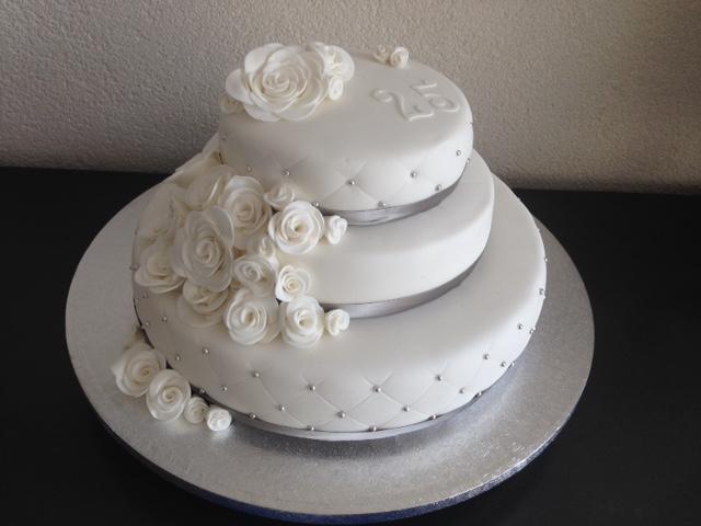 Verwonderend 25 jaar getrouwd – Sonja's taarten CQ-19