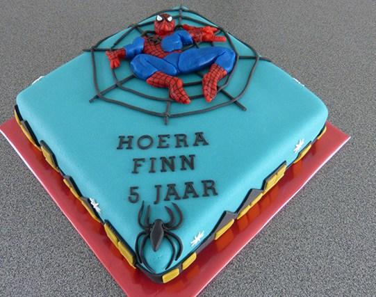 taart_spiderman