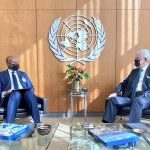 Foreign Minister meets with President of the 75th session of the United Nations