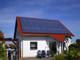 Photovoltatikanlage in Haina/ Hainichland