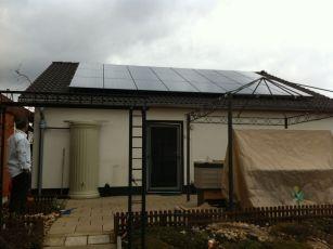 Photovoltaikanlage mit LG Solar in Erfurt