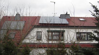 Sunpower Hochleistungsmodule in Ammern bei Mühlhausen